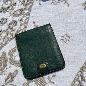 Dunhill 🛍Authentic green men wallet
